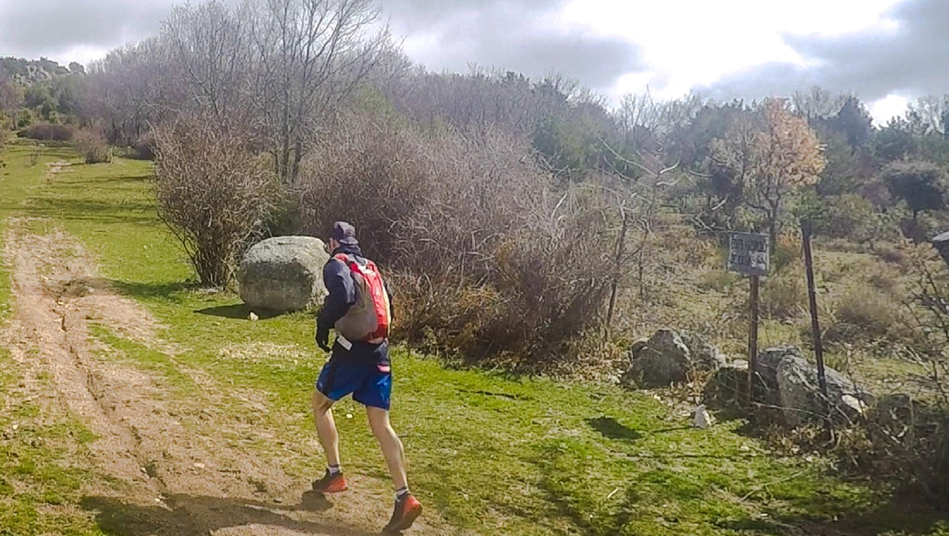 Tecnica de carrera en subidas de Trail