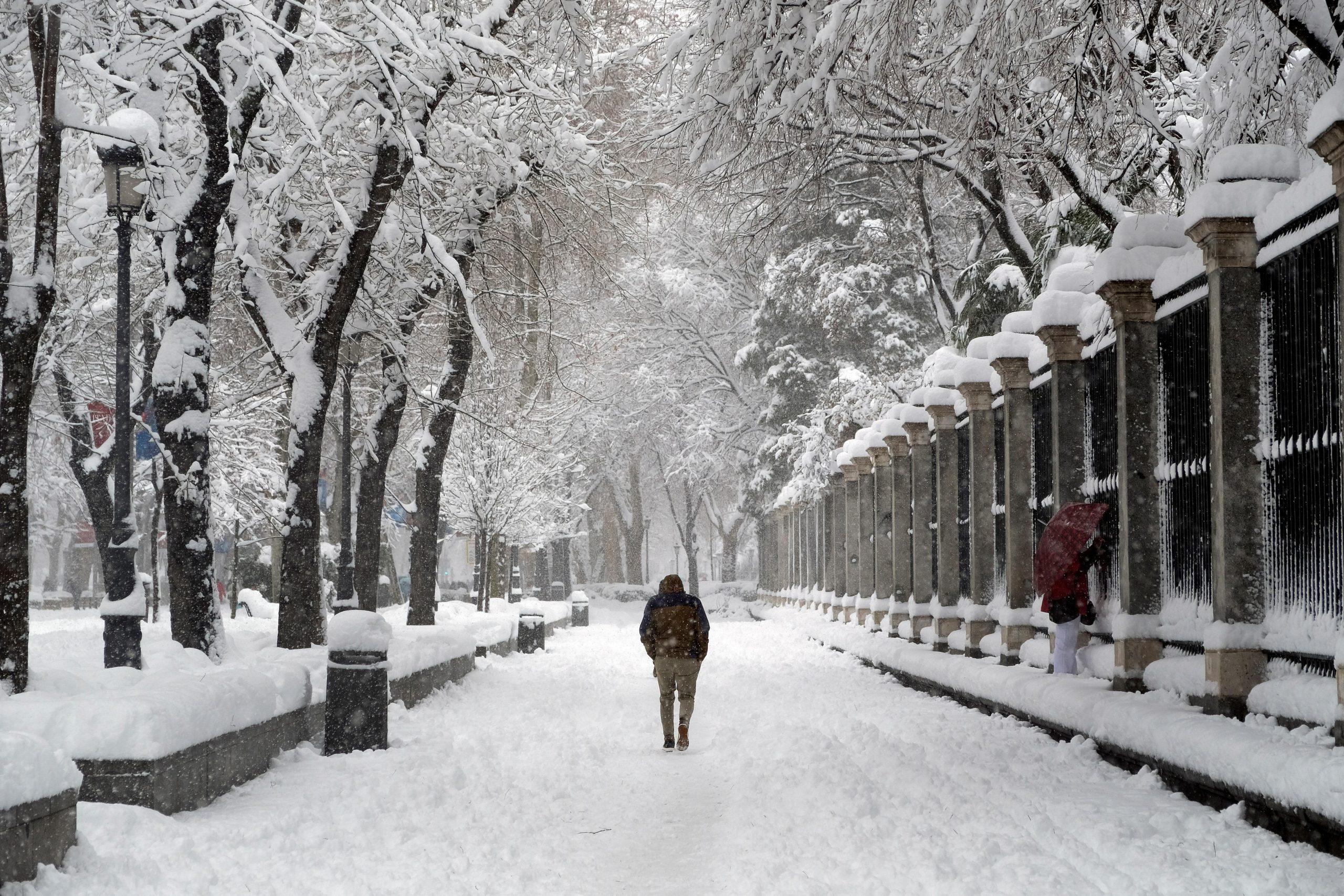 Beneficios de correr en Nieve